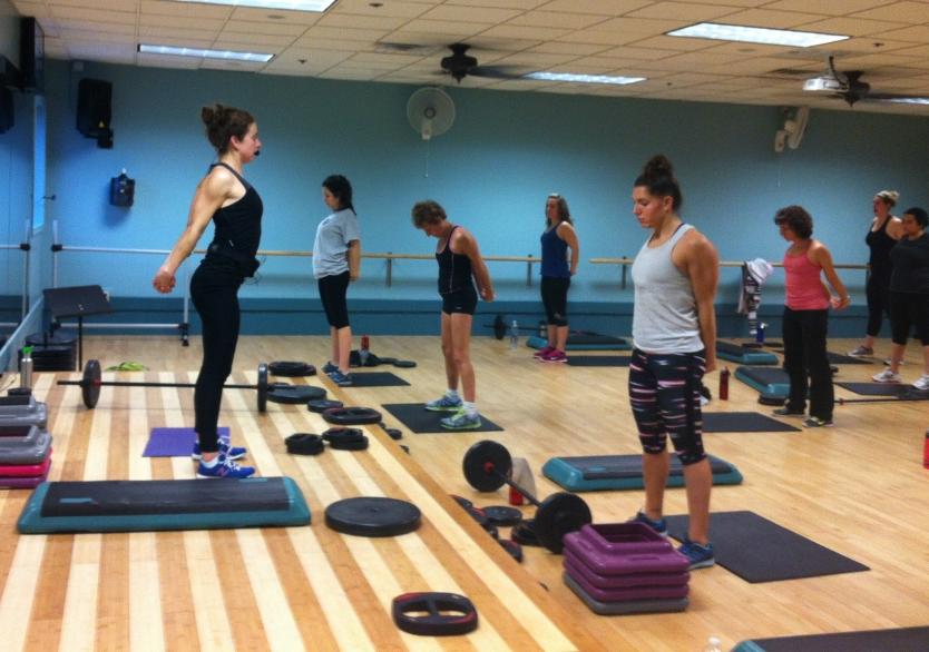 Lauren Belmonte, scientist and fitness instructor