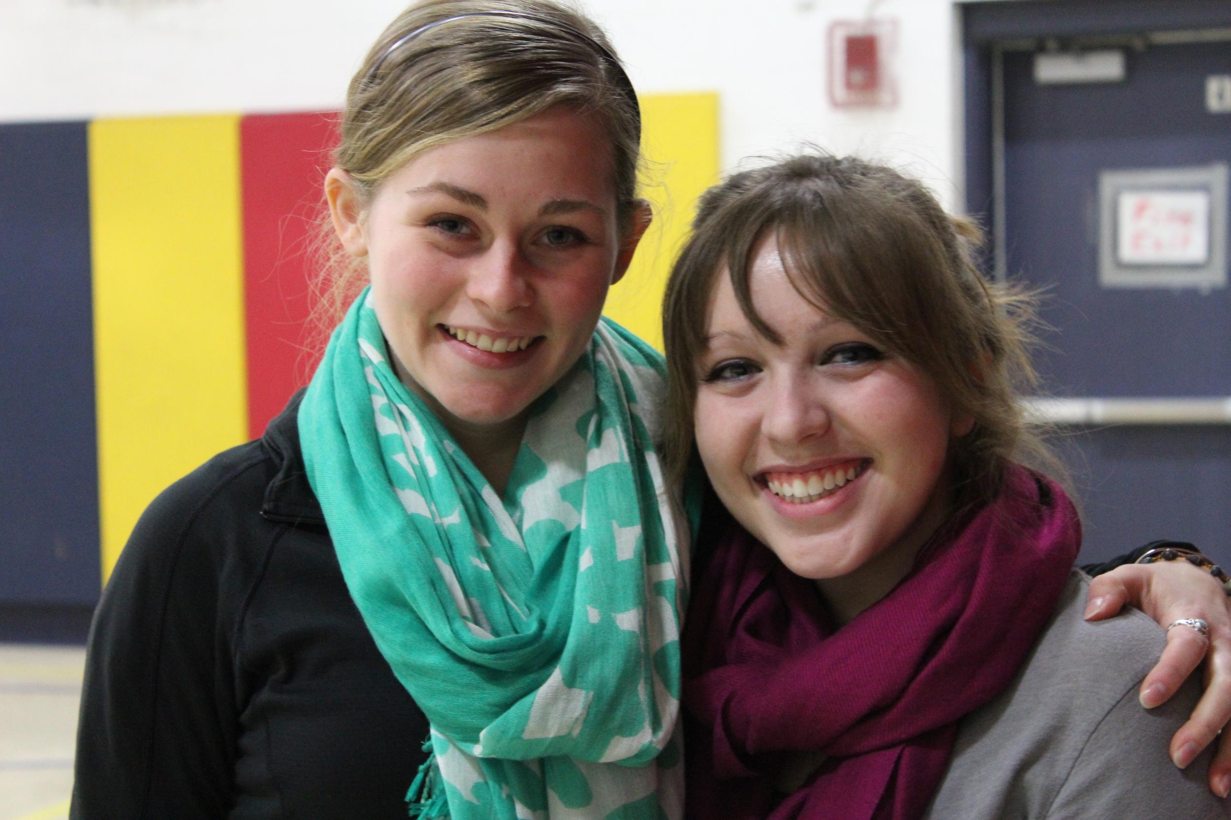 Meghan Perkins and Angelise Musterer, Endicott College