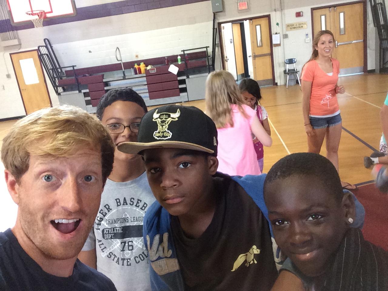 Salem Summer Academy selfie