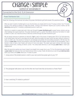 Common Core aligned ELA sheets