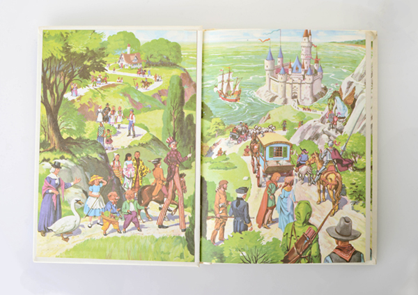 """This    series of books    called """"My Book House"""" begins with nursery rhymes in volume one and ends with biographical portraits of real life heroes. The content grows with the child. Included are brass 'B' bookends because 'B' is for books."""