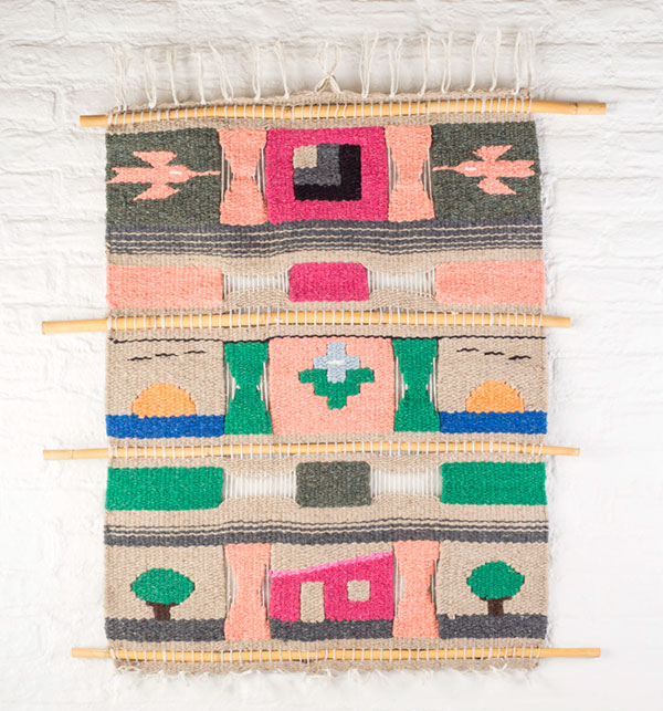 Mary appreciated the 1970s fixation on weaving and knotting. She had lots of macrame plant holders and pillows.