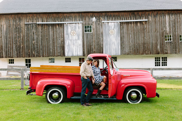 Betty is a 1953 Ford, and the first antique that we bought together.