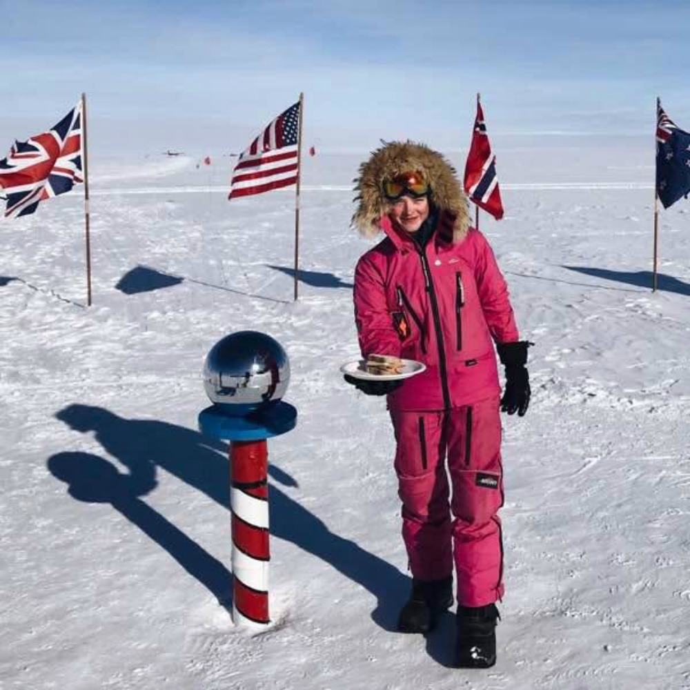 """  A Woman's Place Is at the South Pole  """