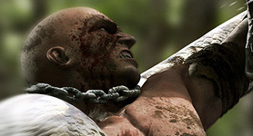 Warrior's Struggle I Textured
