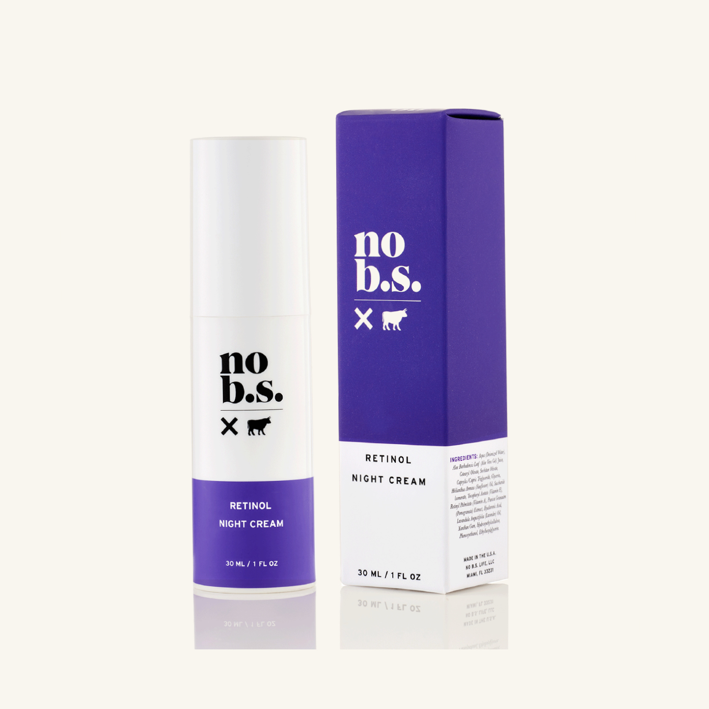 No. B.S. Retinol Night Cream