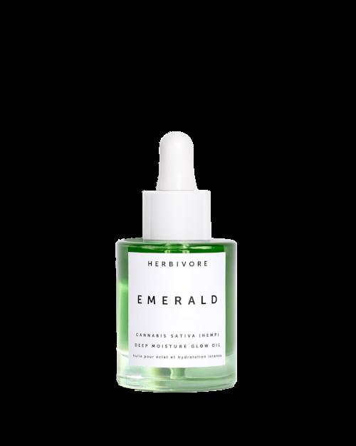 1. Green dream:   Herbivore Emerald Deep Moisture Glow Oil