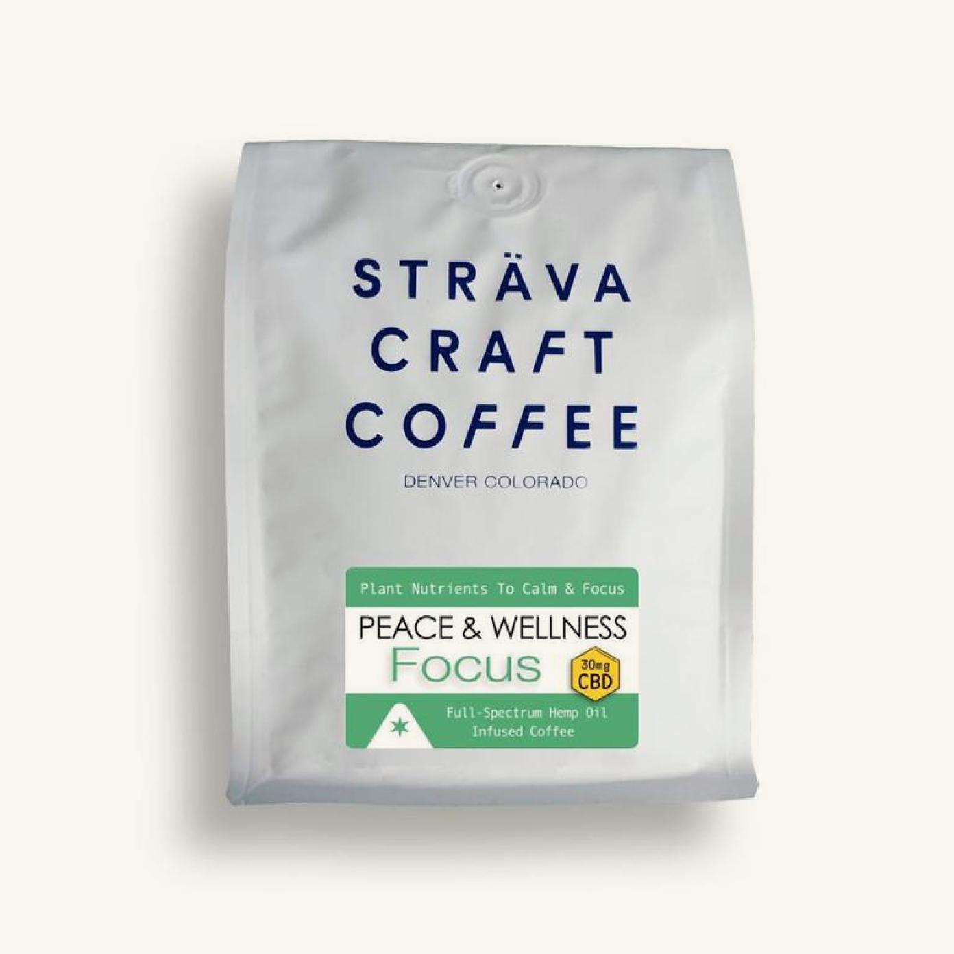 Strava Focus Hemp Oil Infused Coffee