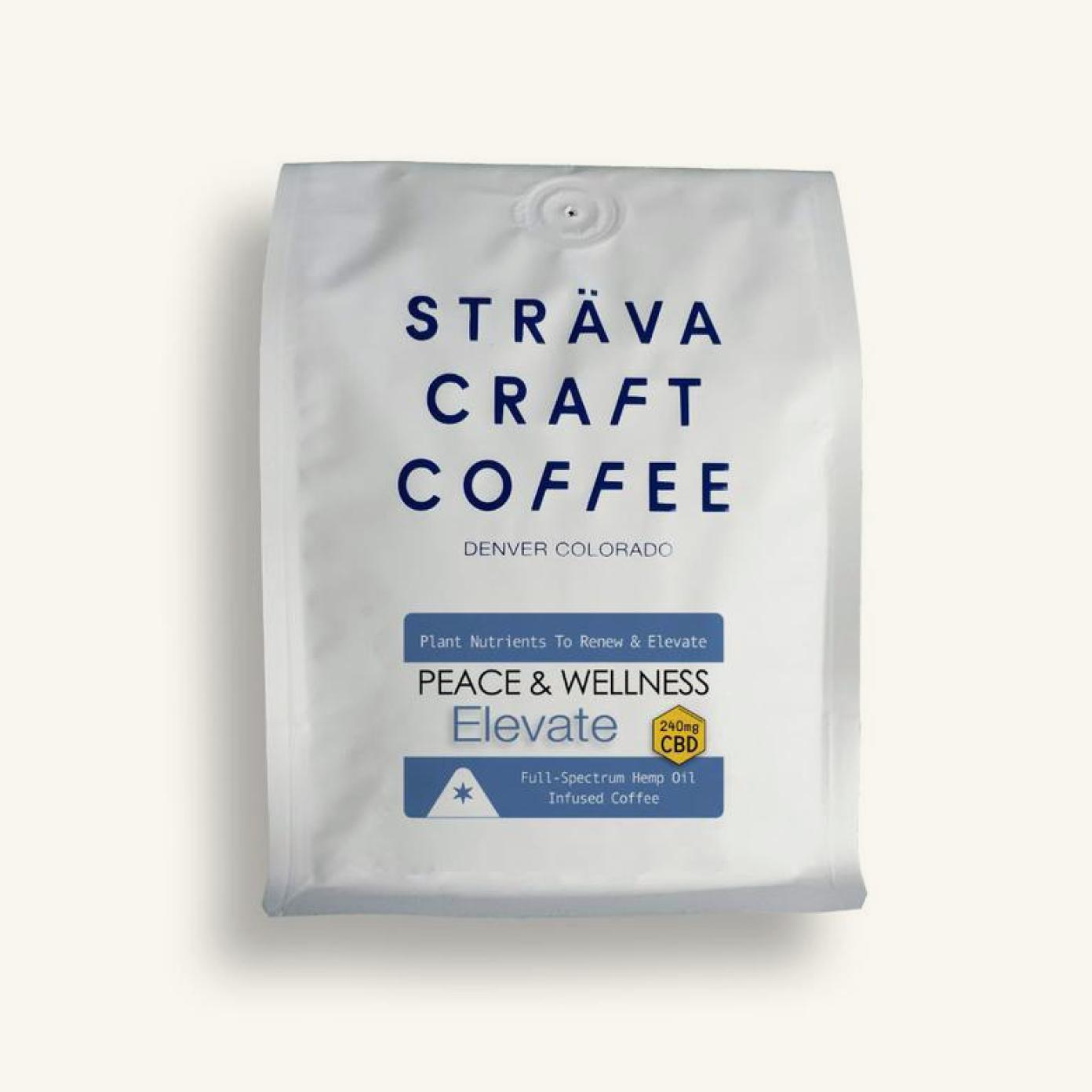 Strava Elevate Hemp Oil Infused Coffee