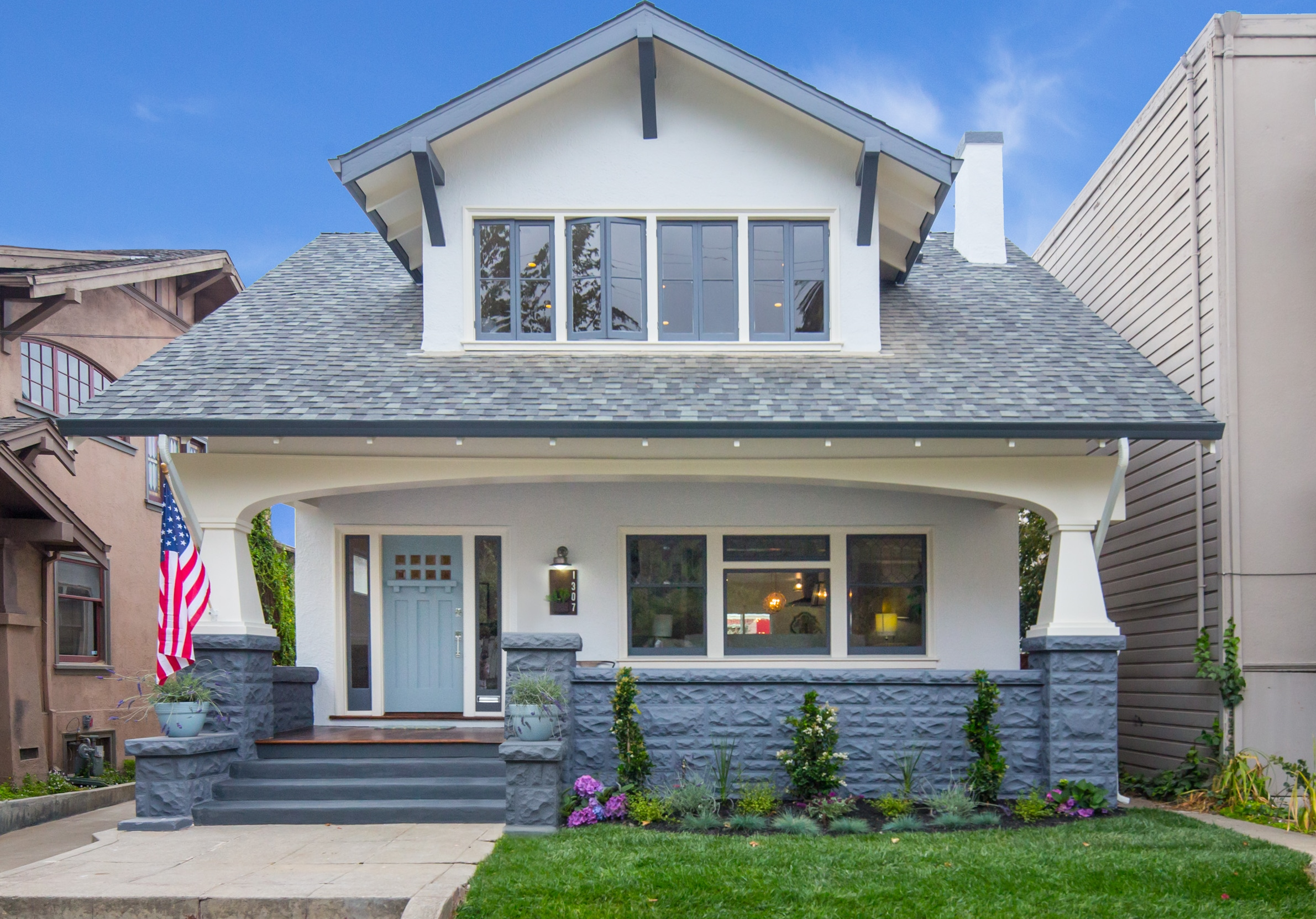 before and after renovation in Oakland, Glenview