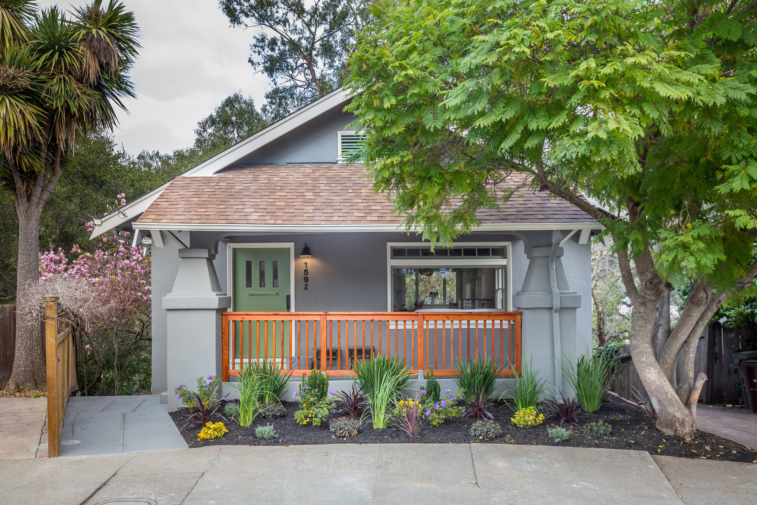 before and after renovation in glenview, oakland ca