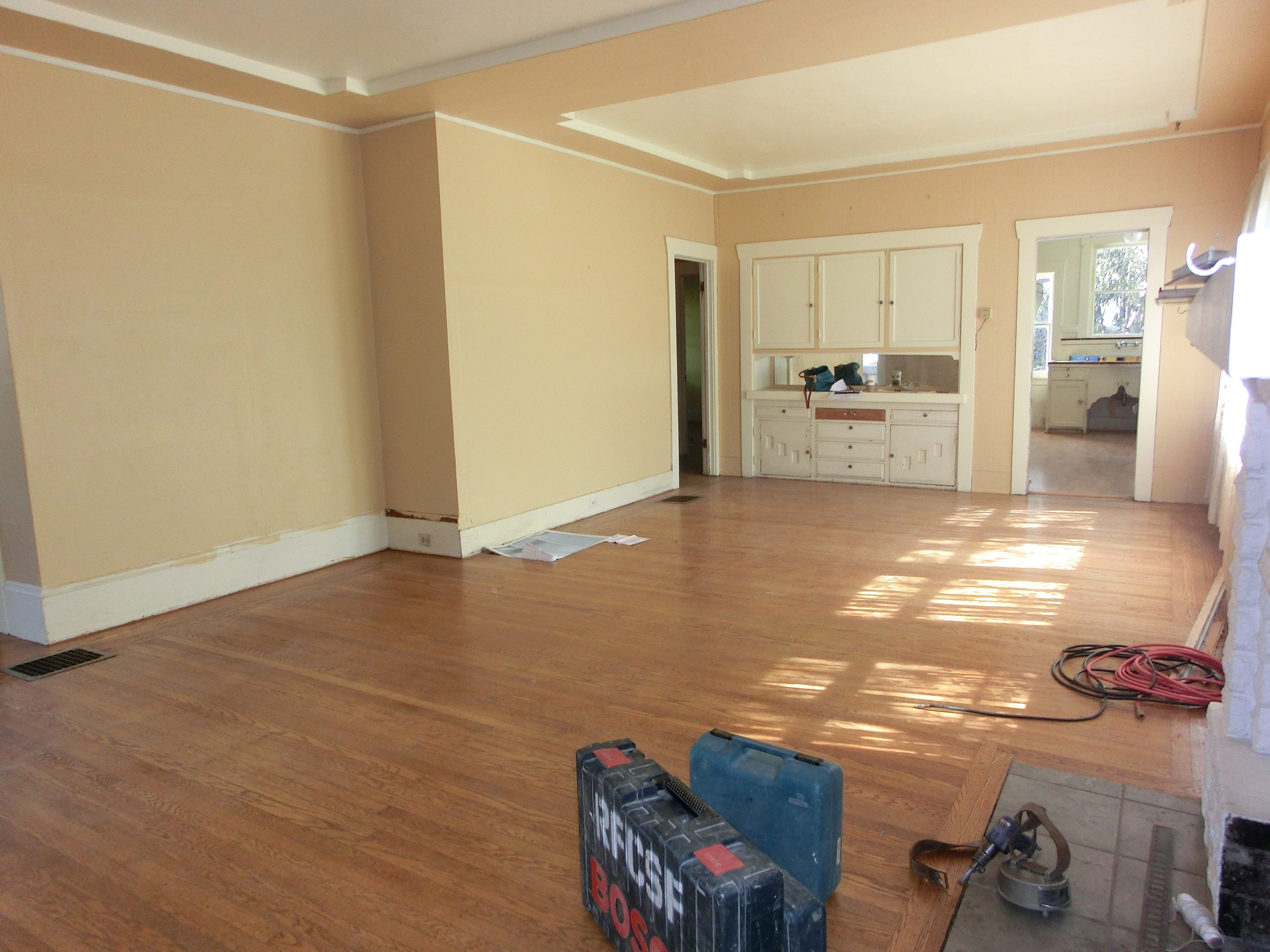 before and after kitchen renovation in glenview, oakland ca