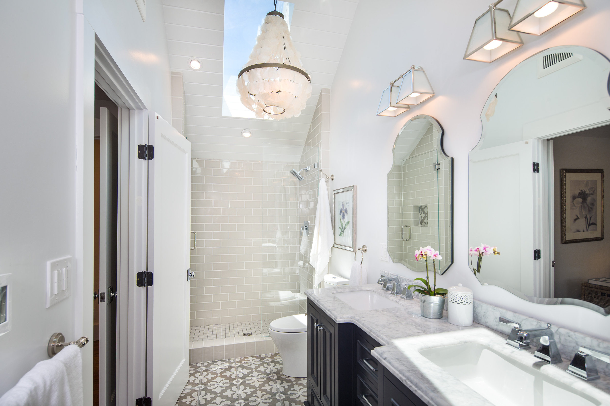 before and after bathroom renovation ideas in Oakland, Glenview