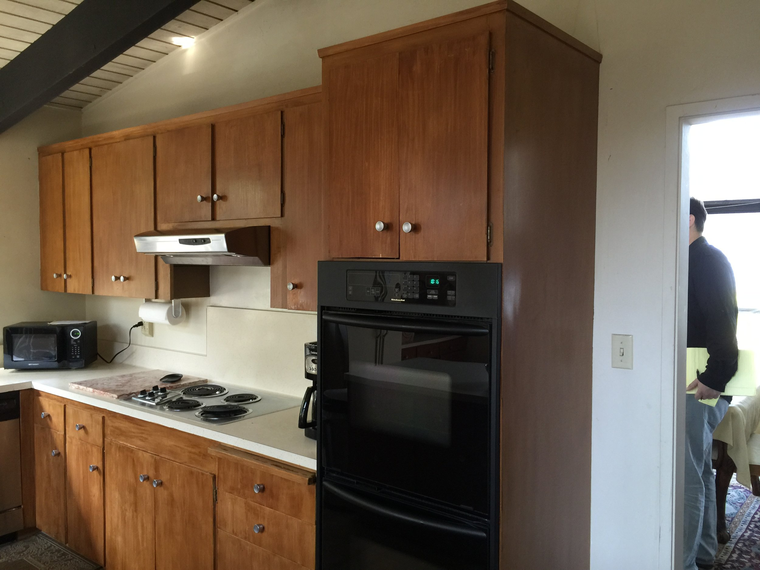 before and after kitchen renovation in Montclair