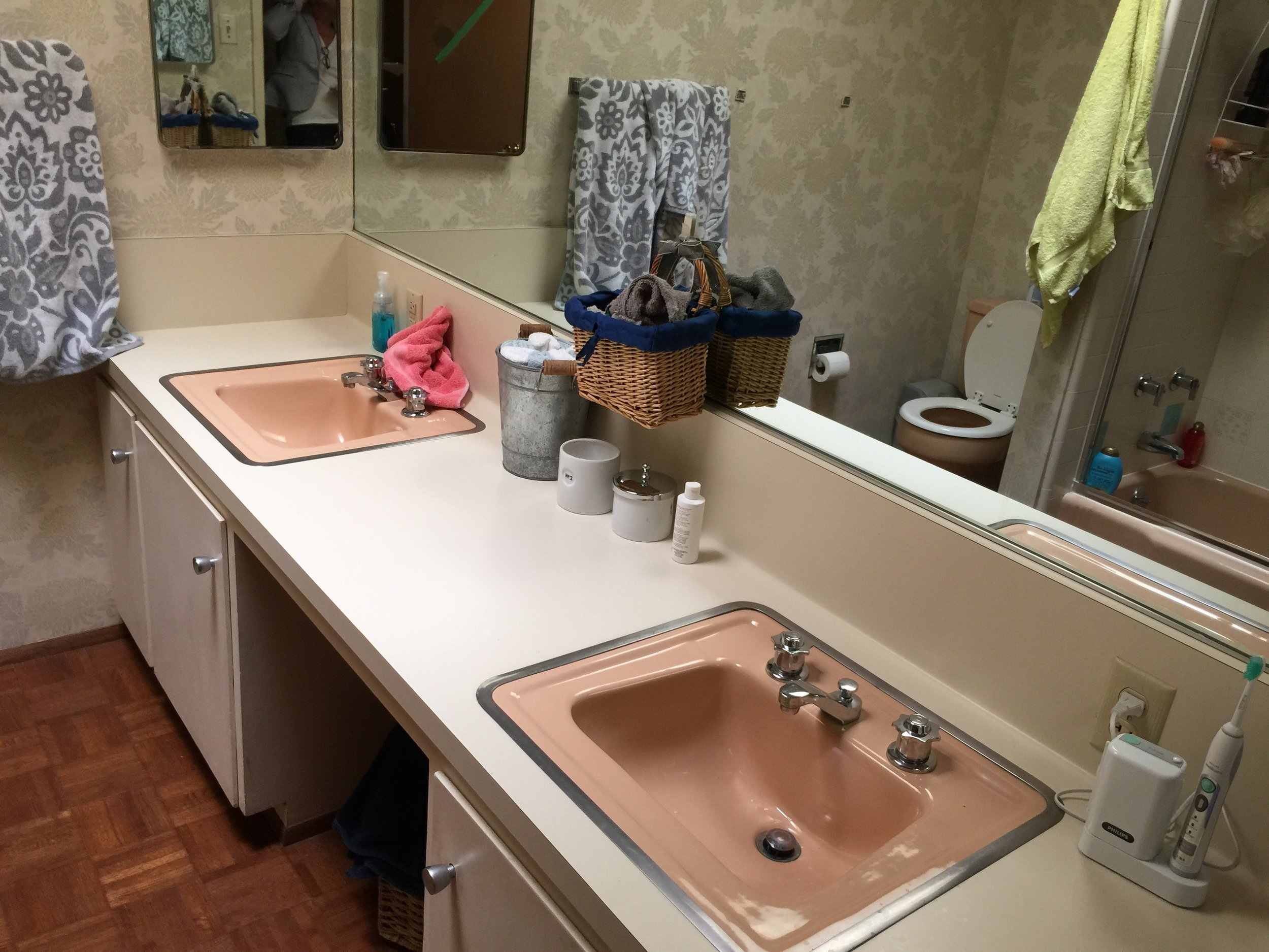 before and after bathroom renovation in Montclair