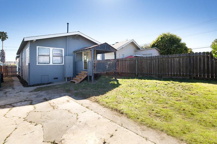 Backyard. 5514 Laverne Oakland CA 94605