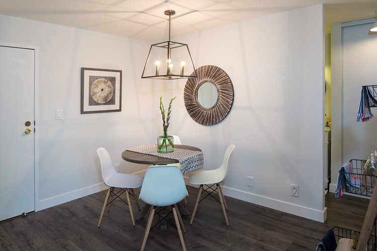 Dining Room. 288 Whitmore #329 Oakland CA 94611