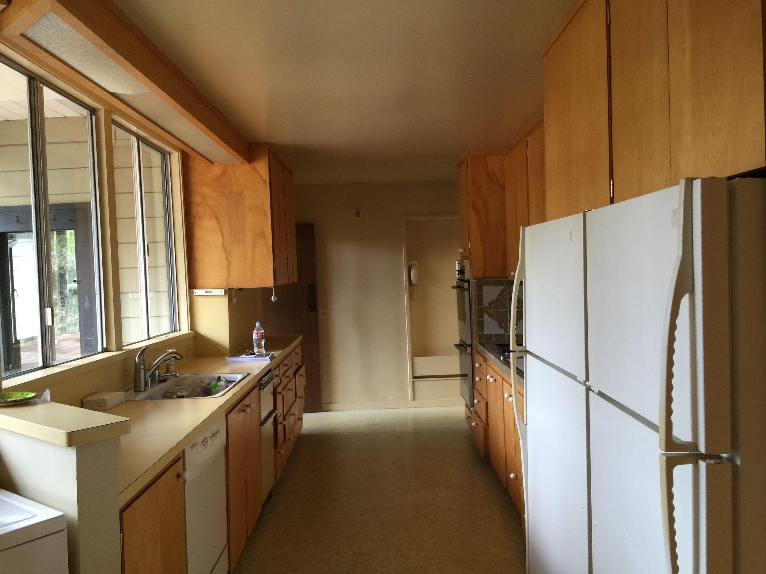 44 Tarry Lane, Orinda. Kitchen: Before
