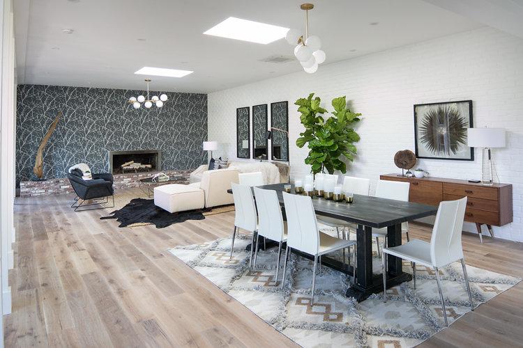 44 Tarry Lane, Orinda. Family Room: After