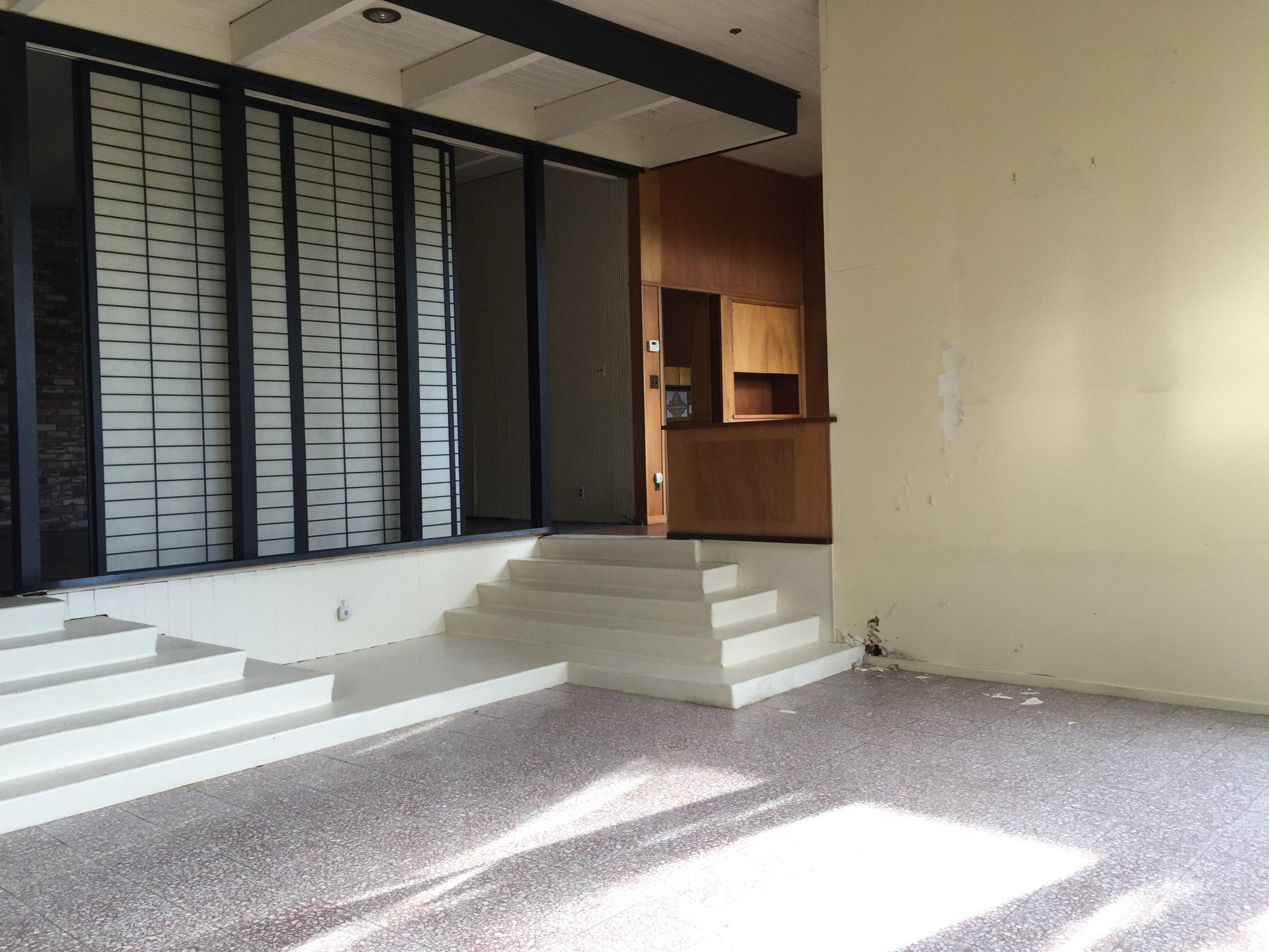 44 Tarry Lane, Orinda. Sitting Room: Before