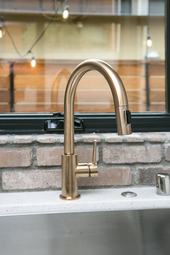 New kitchen faucet at 1176-66th Street, Oakland CA 94608