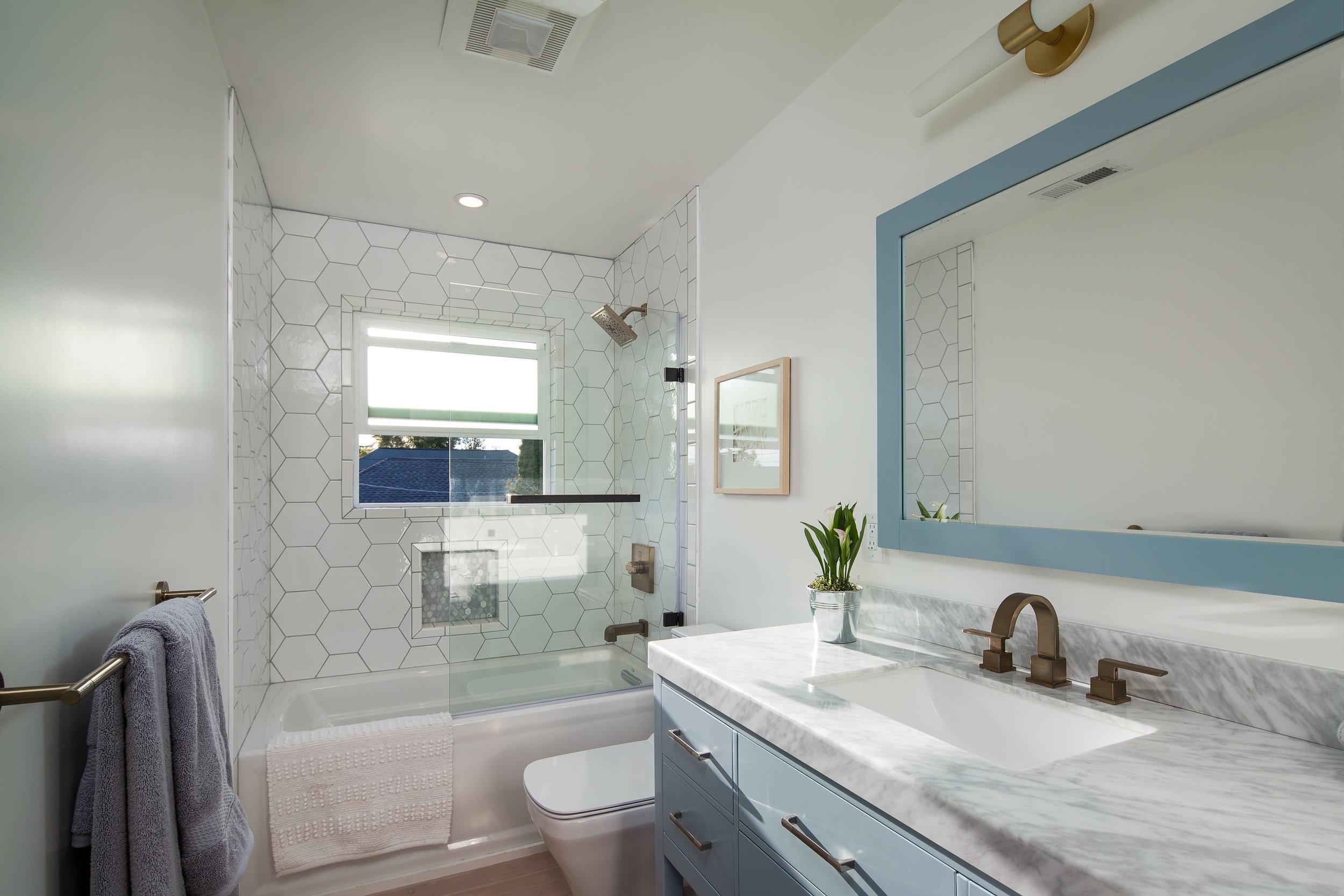 Berkeley bathroom renovation