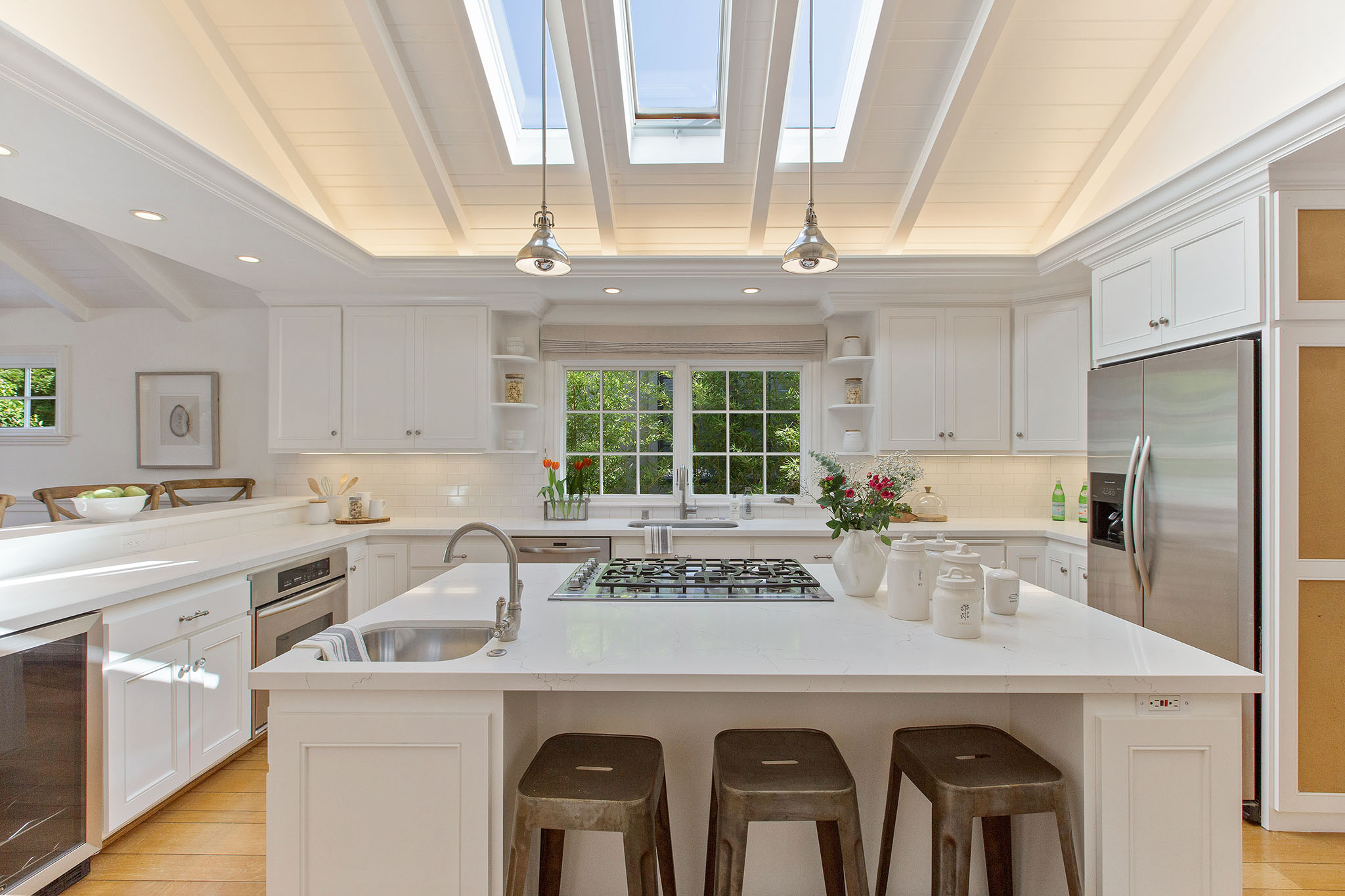 Upper Rockridge Kitchen Design and Real Estate Staging