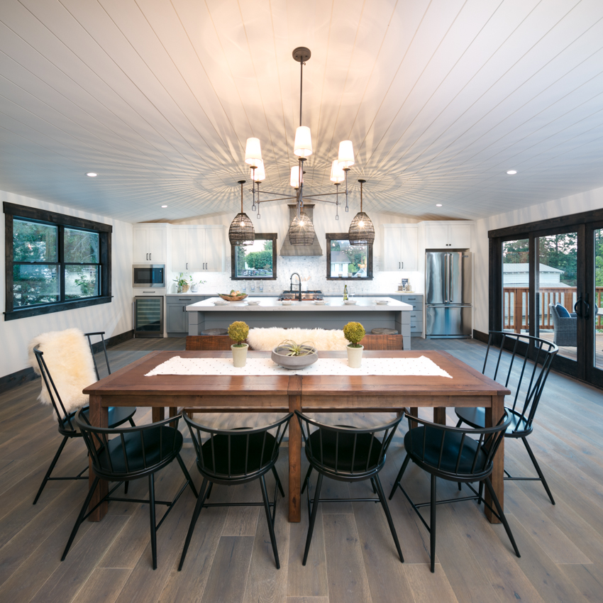 Walnut Creek Kitchen Interior Design and Real Estate Staging