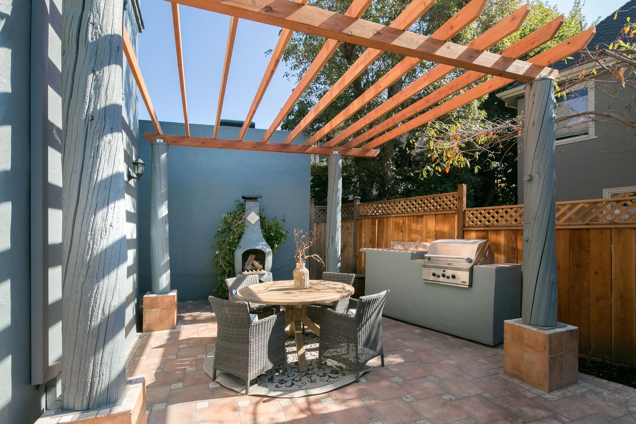 Crocker Highlands Modern Mediterranean Home Design and Staging- after