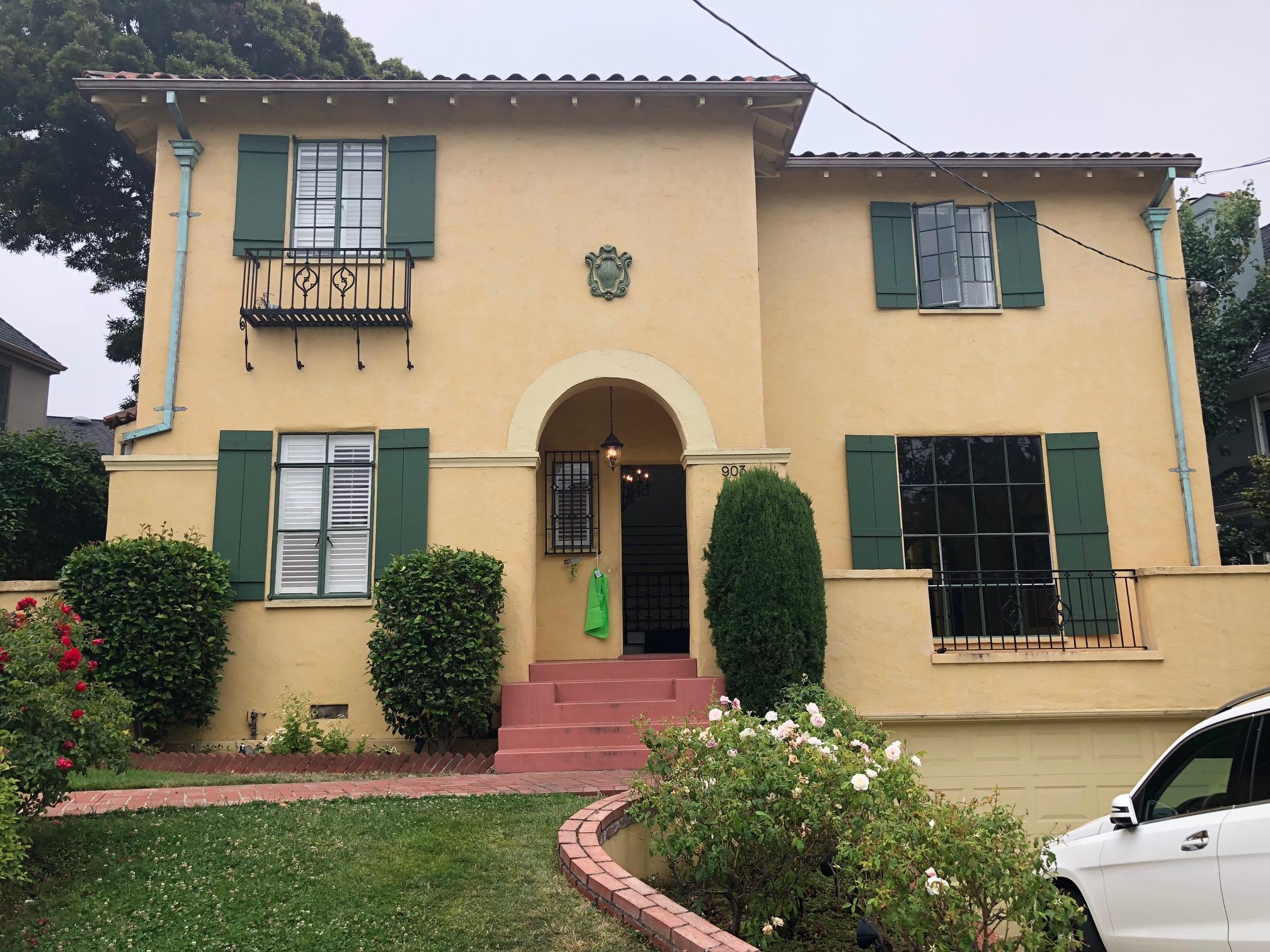 Crocker Highlands Modern Mediterranean Rehab