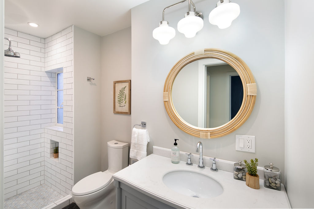 Montclair, Oakland, 94611 Traditional Tudor Home Renovation Design, Real Estate Staging & Listing by The Home Co.