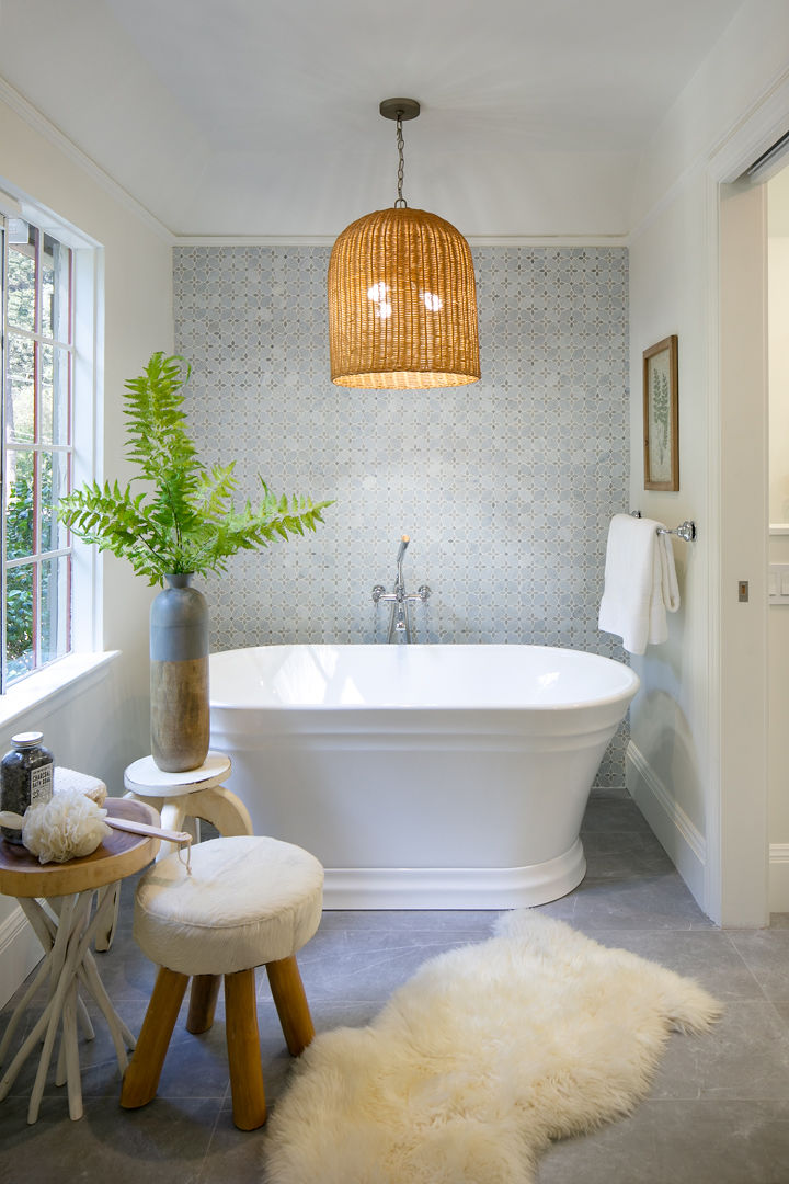 Montclair, Oakland CA 94611 Bathroom Design and Real Estate Staging