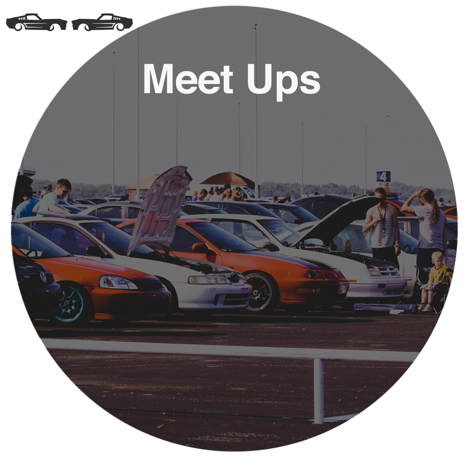Get together with friends and like minded enthusiasts.