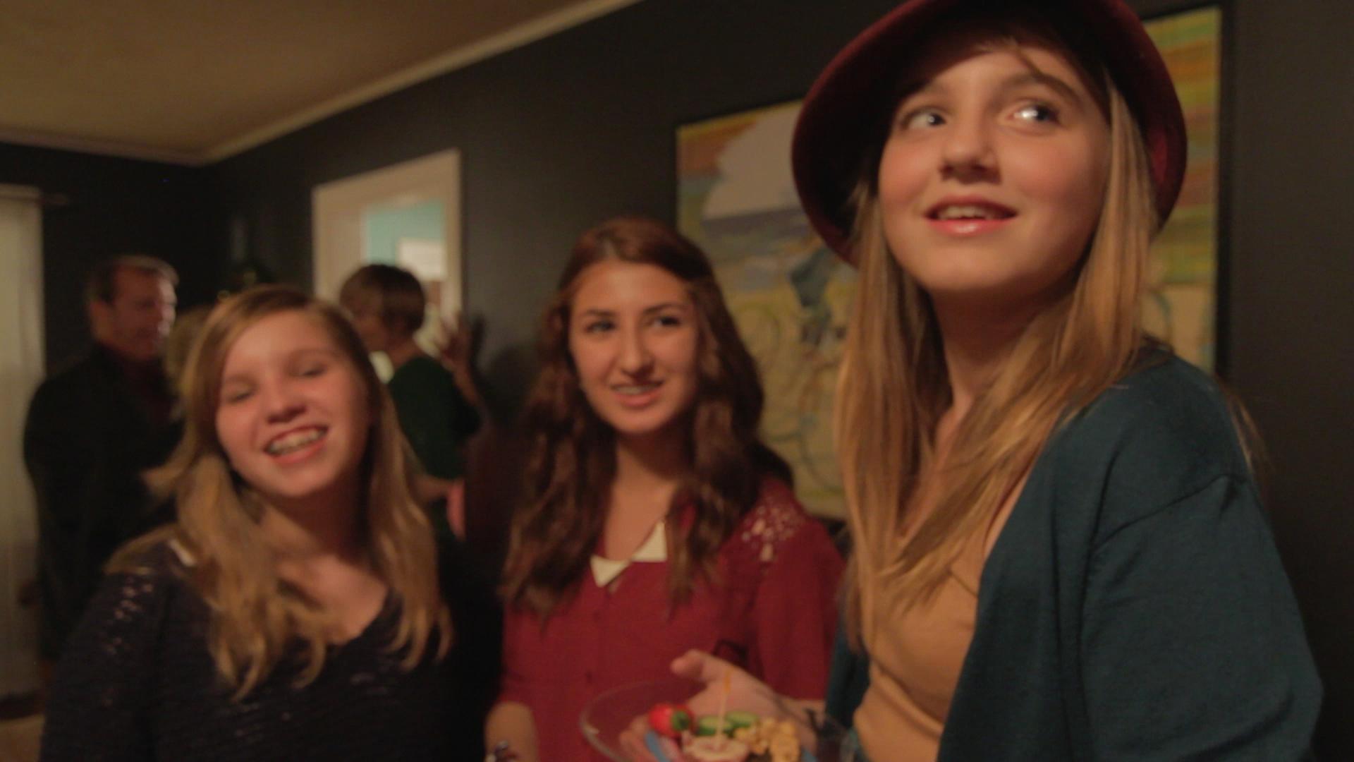 Anna, Sarah, Harriet (l-r) \ Greenville SC