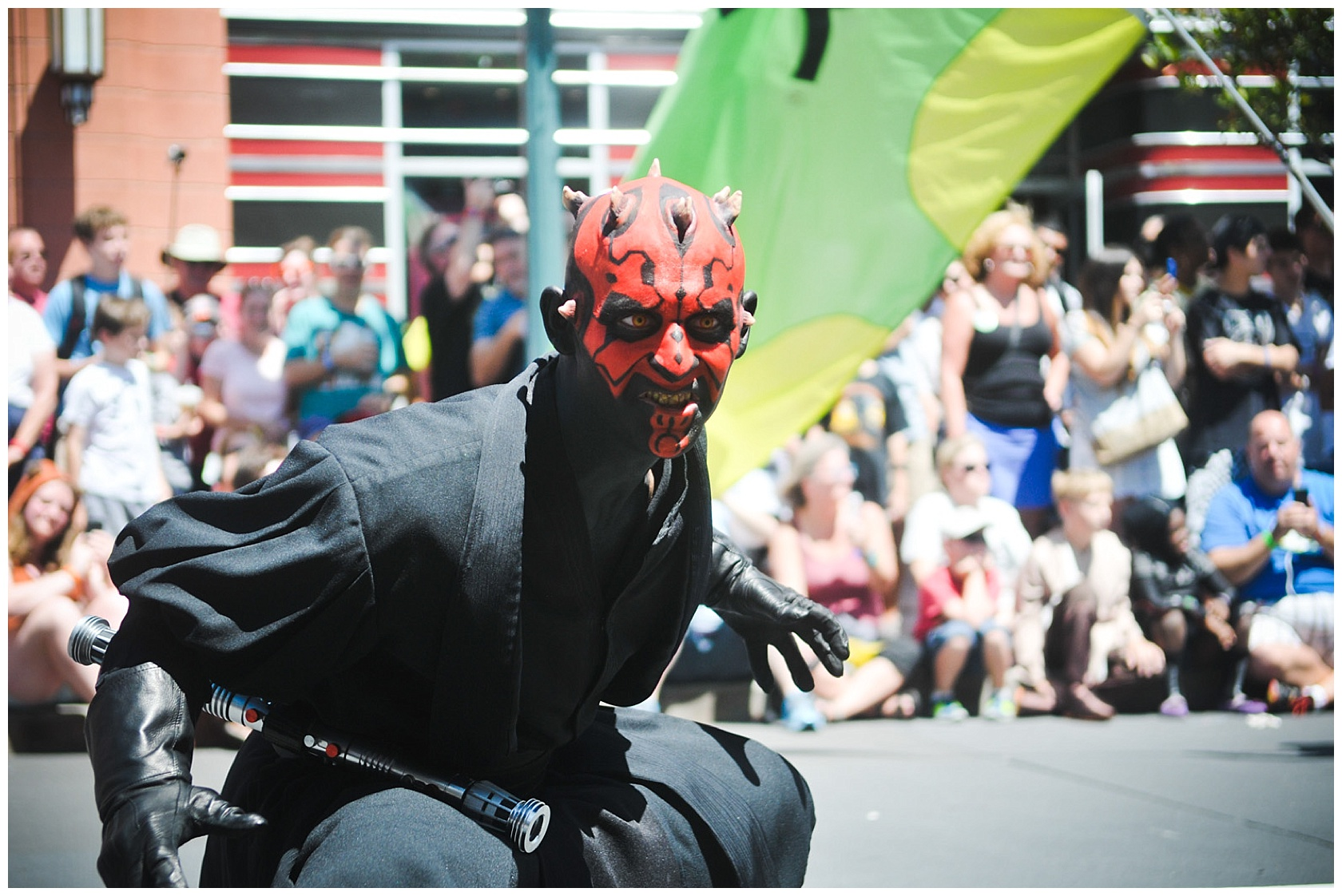 The scary Darth Maul.