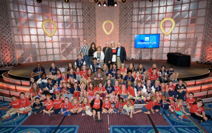 The Children's Miracle Network's 2014 Champion kids.