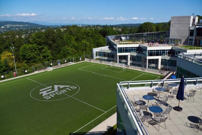 EA Canada's Vancouver campus
