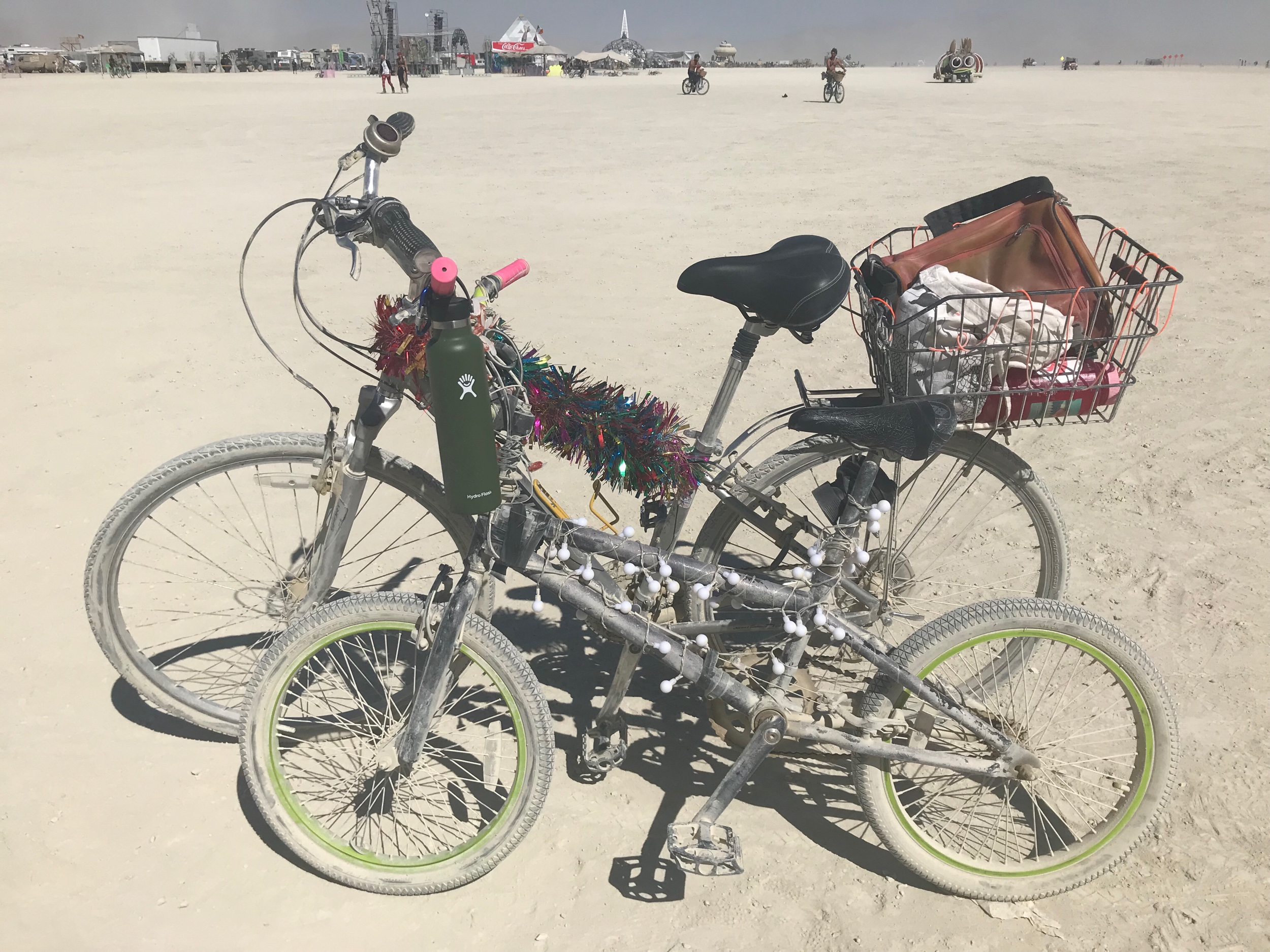 Playa bikes. Mine's the little one.