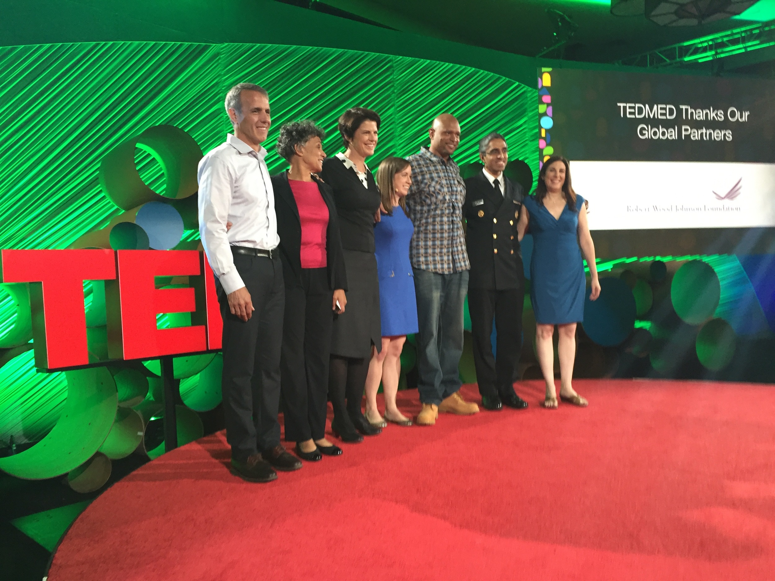 """All of us in the """"Back to Basics"""" session, at TEDMED 2015 in Palm Springs, from November 18-20 this year."""