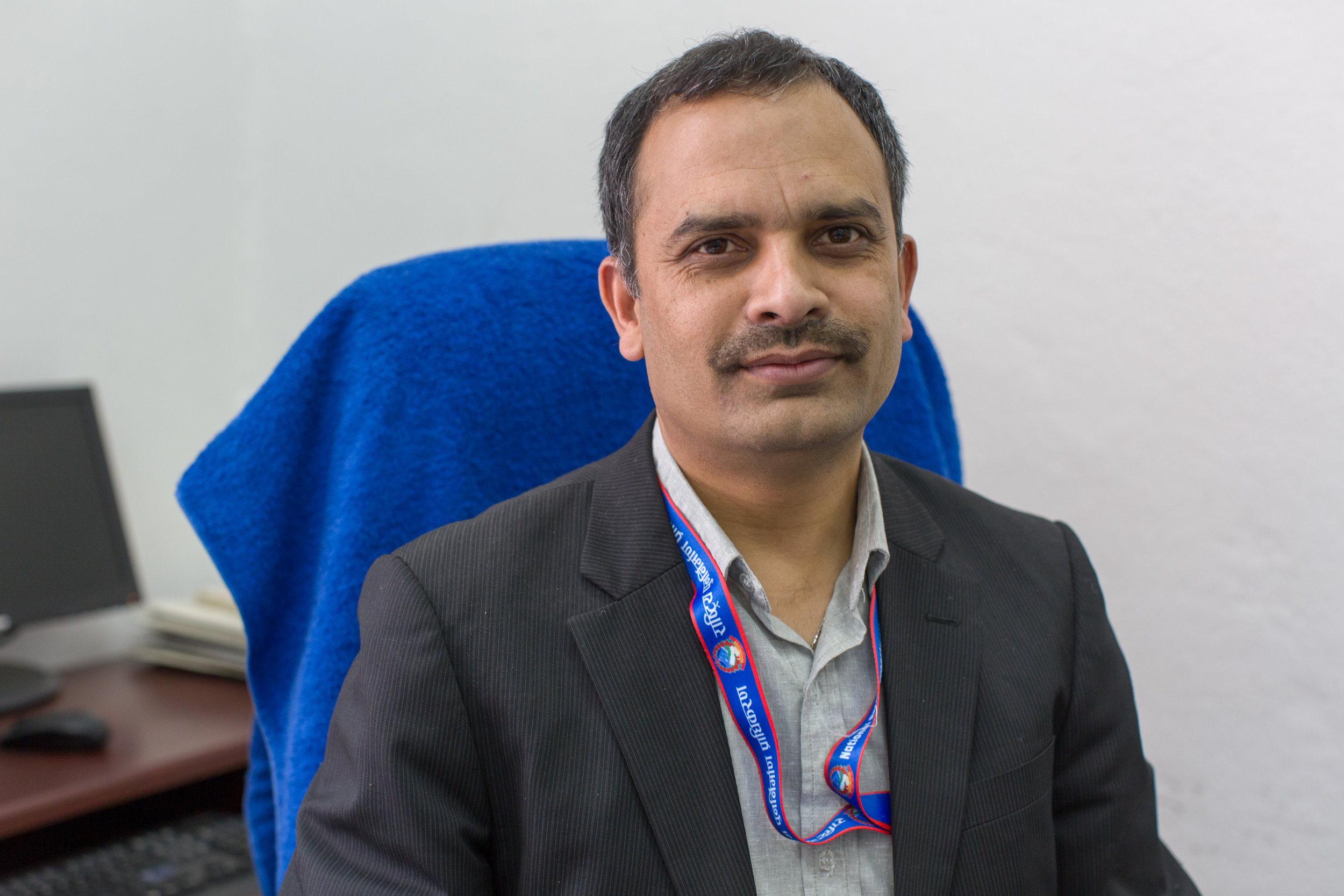 Mr. Yam Lal Bhoosal a joint secretary and spokesperson for NRA. So far, less than 1% of eligible families have received a 2nd tranche of funds to rebuild their homes, which is dependent on building a good foundation.