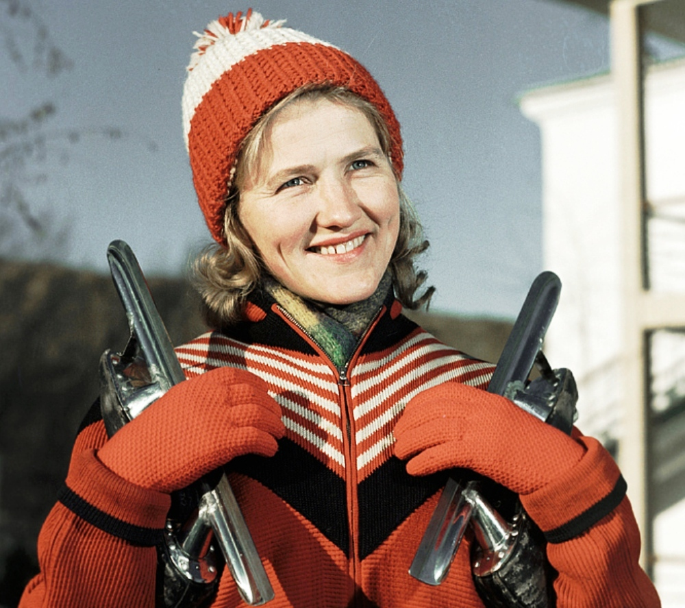 Representing the USSR Olympic team during the Olympic Winter Games in 1960 and 1964, she won a total of six gold medals, still a record number for a speed skater.