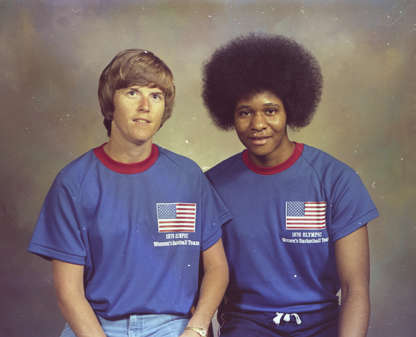 "U.S. Summer Olympic Women's Basketball Coach Billie Jean Moore and team member Charlotte Lewis.  T  he 1976 Summer Olympic Games were held in Montreal, Canada.  It was the first time women's basketball was introduced into competition at the Games.  On that team was a 6'2"" junior from Illinois State who was no stranger to international competition.  Peoria native Charlotte Lewis had competed the year before at the 1975 Pan American Games and brought home a gold medal.  In order to compete in the 1976 Summer Olympics, the U.S. Women's team needed to qualify.  There were only two spots open but thanks to their 5-0 record at the Olympic Qualifying Tournament, the team made it to the Games.  Lewis played Center at the Games and played in two of the five matches.  The team went 3-2 and brought home the silver medal."