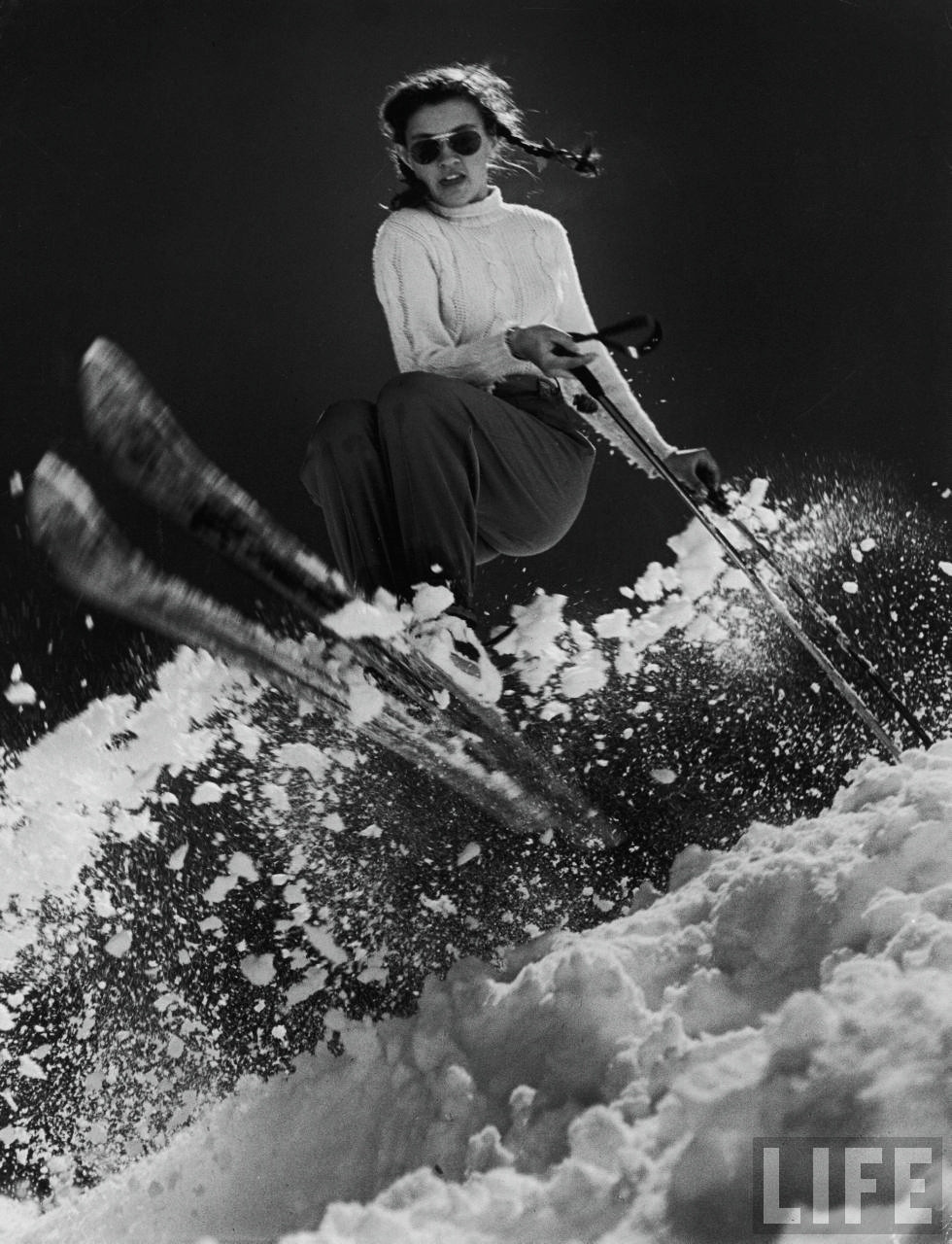 """Two-time Olympic Alpine skiing champion who competed in her first Olympics at age fifteen. A 1947 Life magazine profile stated """"her only interest in boys is how well they ski""""- After retiring from the sport, Mead Lawrence became a passionate conservationist, founding the Andrea Lawrence Institute for Mountain and Rivers to protect the Sierra Nevada mountain range."""