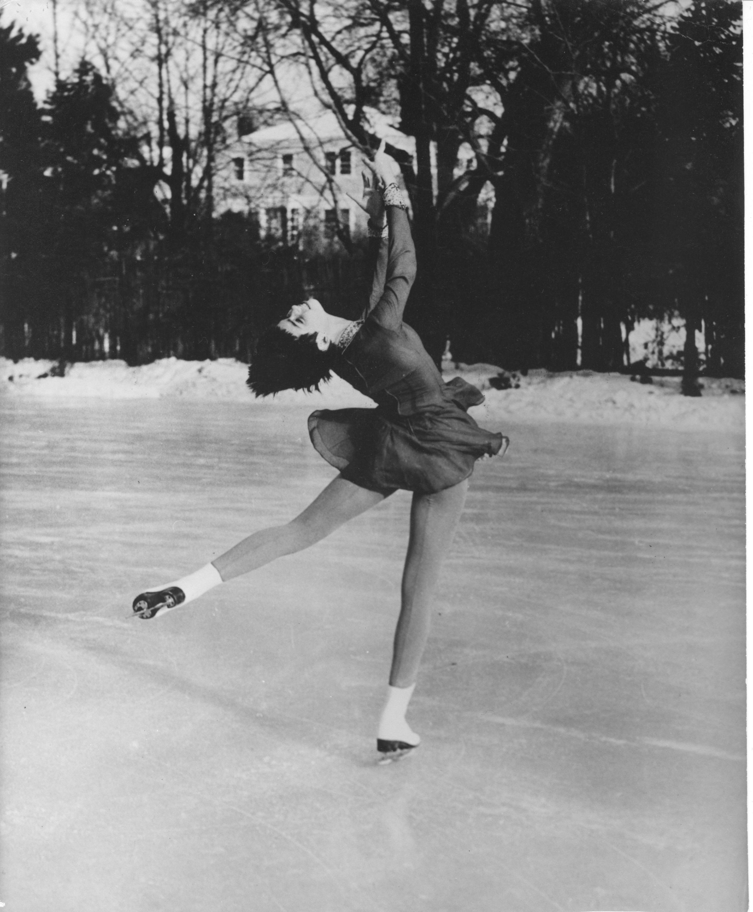 Nine-time U.S. Olympic figure skating champion and member of the World Figure Skating Hall of Fame. After retiring from competition, Owen enjoyed a successful career as a coach for the American figure skating team. At the 1961 U.S. National Championships, both of Owen's daughters won gold - 21 year old namesake Maribel in pairs and 16 year old Laurence in ladies' singles. Tragically, all three Owen women perished the following month, when a plane carrying all eighteen members of the U.S. figure skating team crashed en route to the World Championships in Prague. The USFS Memorial Fund, created following the crash, has since granted over $10M to young figure skaters across the country, including Michelle Kwan.