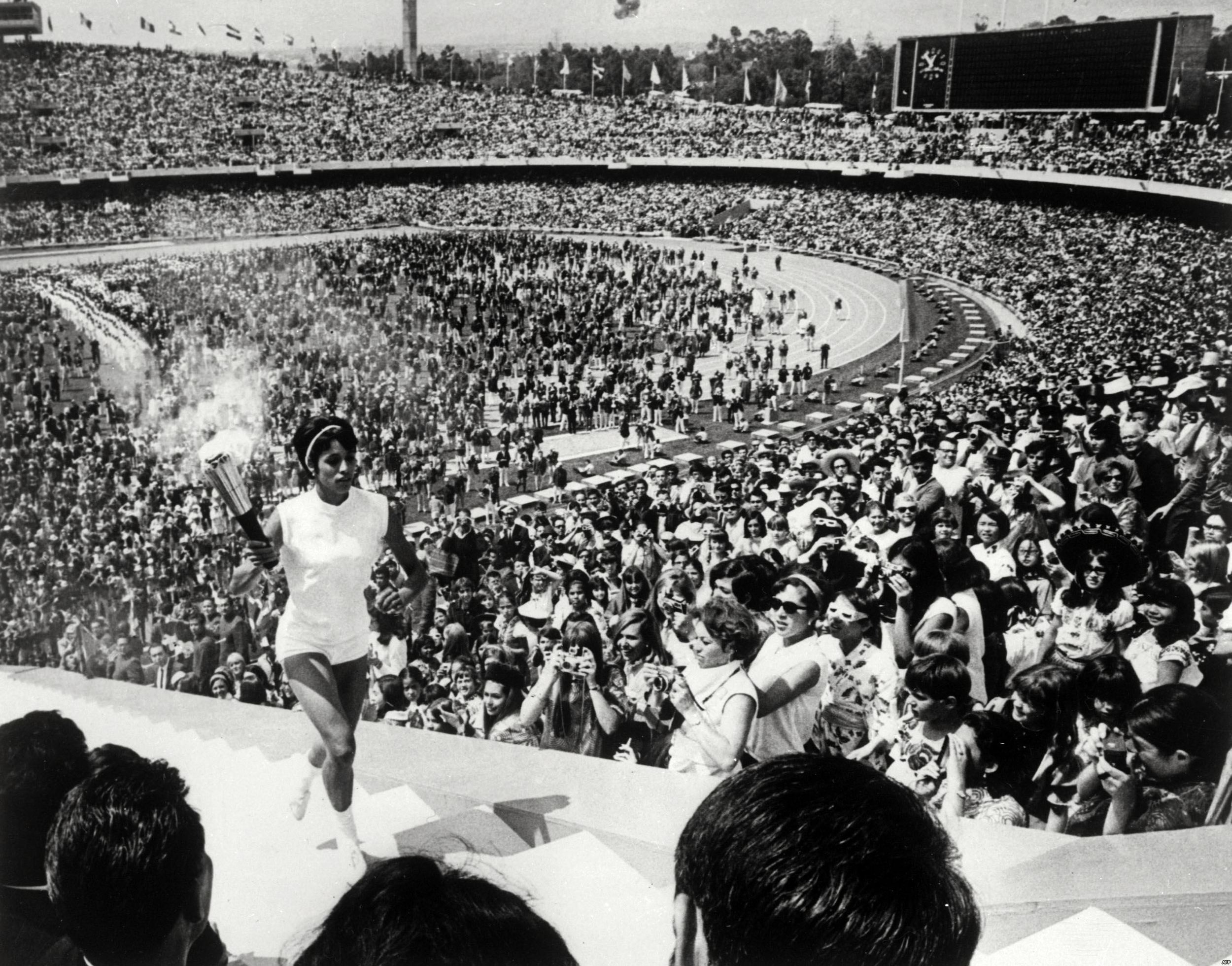 Basilio was a Mexican track and field athlete who competed in several disciplines. Although she failed to medal at the '68 Olympics in her home country, one of the most enduring images of the Games is that of 20 year old Basilio running into the stadium and lighting the Olympic cauldron.  In doing so, she became the first female in Olympic history to hold the honour.
