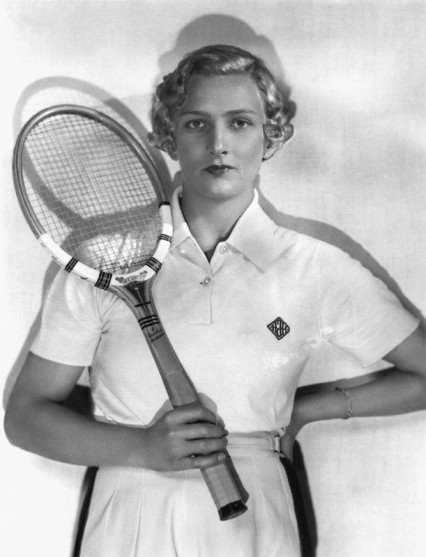 Helen Jacobs's lasting footnote at Wimbledon is as the first woman to popularize man-tailored shorts as on-court attire. ''It seemed the sensible thing to do,'' she would say later. Jacobs's admirable courage and fighting qualities earned her nine Grand Slam titles, and a triple crown of singles, doubles and mixed doubles at the 1934 United States Nationals. She was ranked in the world Top 10 for 12 straight times from 1928, was No. 1 in 1936, and was elected to the International Tennis Hall of Fame in 1962. Jacobs was a commander in United States Navy intelligence in World War II, one of five women in the Navy to achieve the rank of commander. She retired from tennis in 1947 and enjoyed a career as a writer of 19 books, a farmer and a designer of sportswear.Jacobs is survived by her companion, Virginia Gurnee.