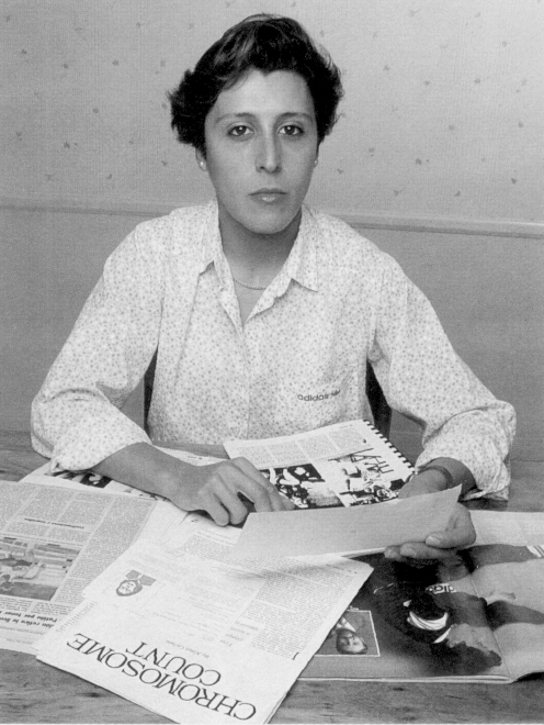 Prior to a 1985 competition, celebrated Spanish hurdlerMartínez Patiñowas forced to undergo gendertesting. Despite passing previous sex-determination tests and receiving a Certificate of Femininity,Martínez Patiño's results revealed she had androgen insensitivitysyndrome (AIS) and a Y chromosome.Martínez Patiñowas ruled ineligible forfuture competitions, including the 1988 Olympics, and lost several athletic scholarships. She was reinstated two and a half years later by the International Amateur Athletics Federation. Retired from the sport, Martinez-Patino received her PhD and is now a university professor.