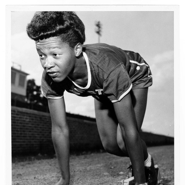 A three-time Olympian, Mae Faggs was a gold medalist at the 1952 Olympics when she ran on the 4x100m relay team that set a world record of 45.9 Her running experience began at age 15 after she was recruited to run as a member of the New York City Police Athletic League. A year later, she qualified to represent the U.S. in the 200 meters at the London Olympics. After graduating from Bayside High School in New York, she became Hall of Fame coach Ed Temple's first recruited athlete at Tennessee State University. While running for the Tigerbelles, she qualified for her second Olympic team in both the 100 meters, in which she finished sixth, and the 200 meters, in which she failed to qualify for the final. She ran the lead-off leg on the world-record setting 4x100m relay team. At the 1956 Olympics, she won a bronze medal in the 4x100m relay. At the 1955 Pan-American Games, she was also a gold medalist in the 4x100m relay team and took a silver medal in the 200 meters. She won 11 National AAU titles, six of them in the indoor 220-yard sprint. After retiring, Faggs became a schoolteacher.