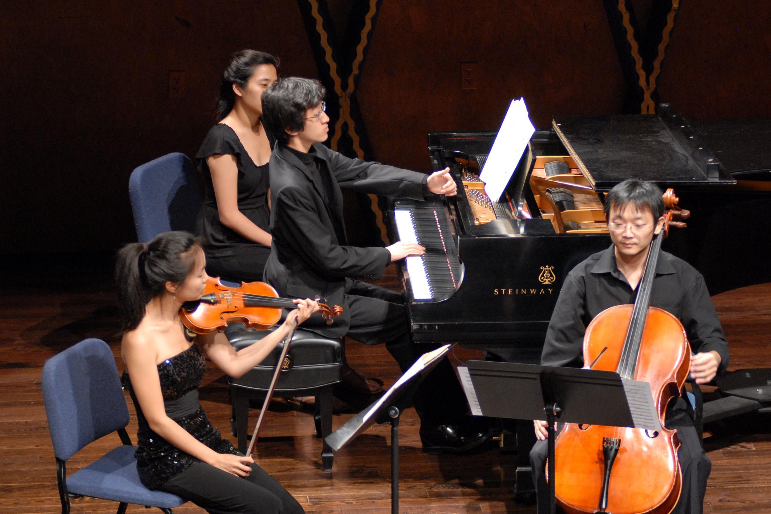 Chamber Music at PianoTexas 2011.