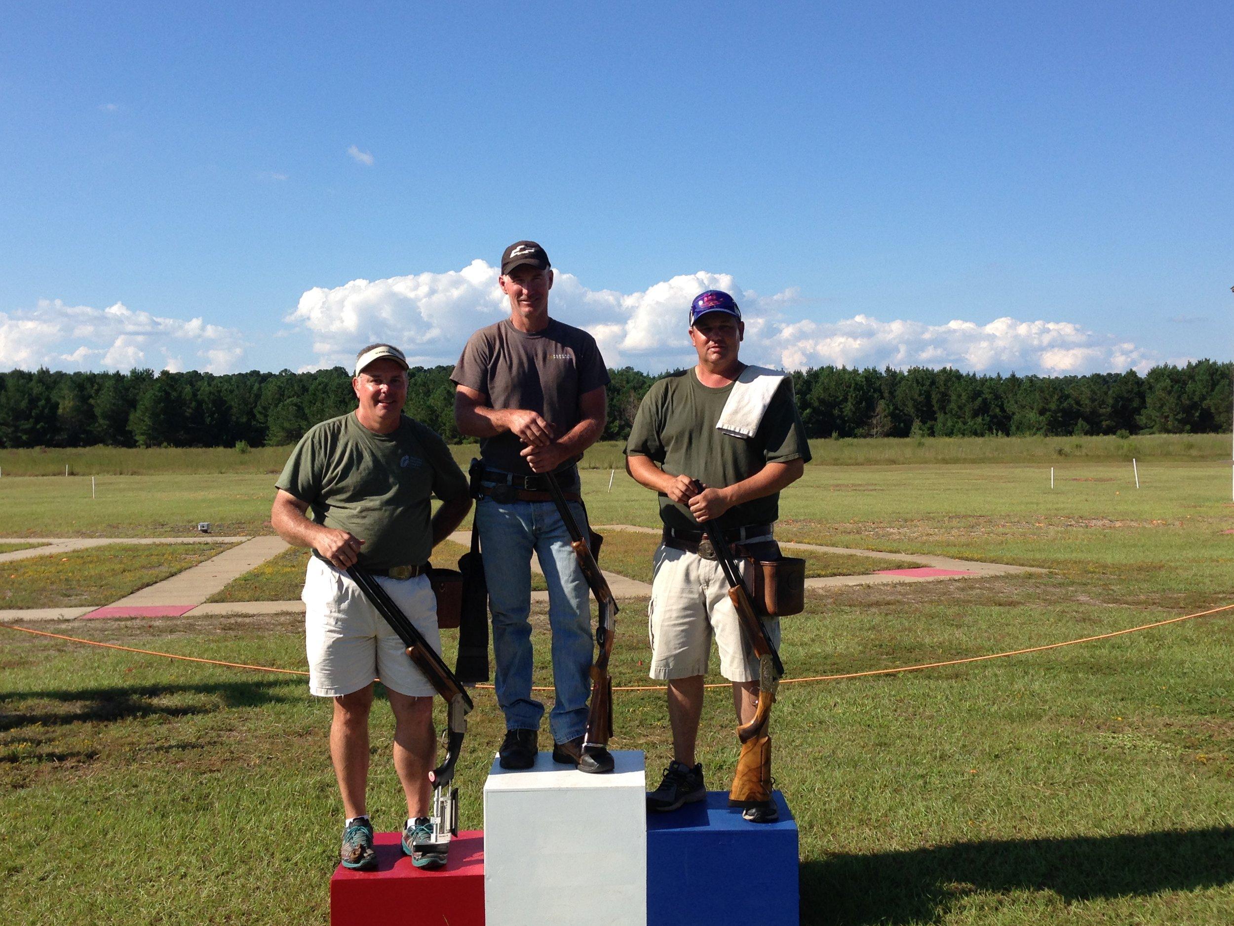 HOA winners: Champion - Stuart Brown (398), Runner-up - Craig Kirkman (397), and 3rd - Chip Simmons (397).